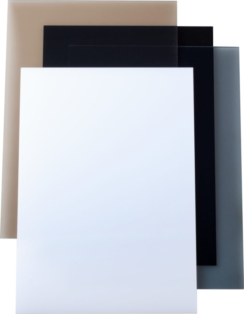 Fully Recycled Extruded PMMA Sheets